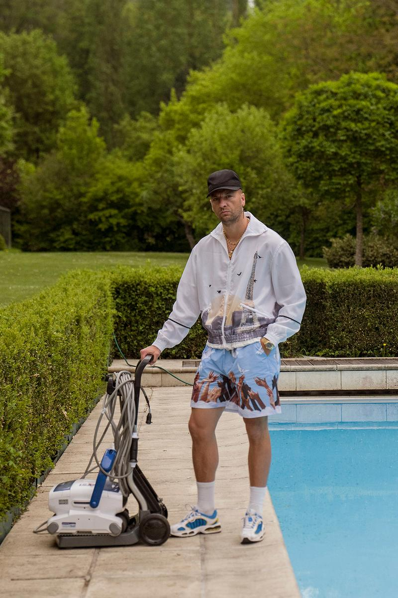 3.PARADIS SS20 Editorial Lookbook menswear julien blue mode boudet fashion photographer spring/summer 2020 luxembourg