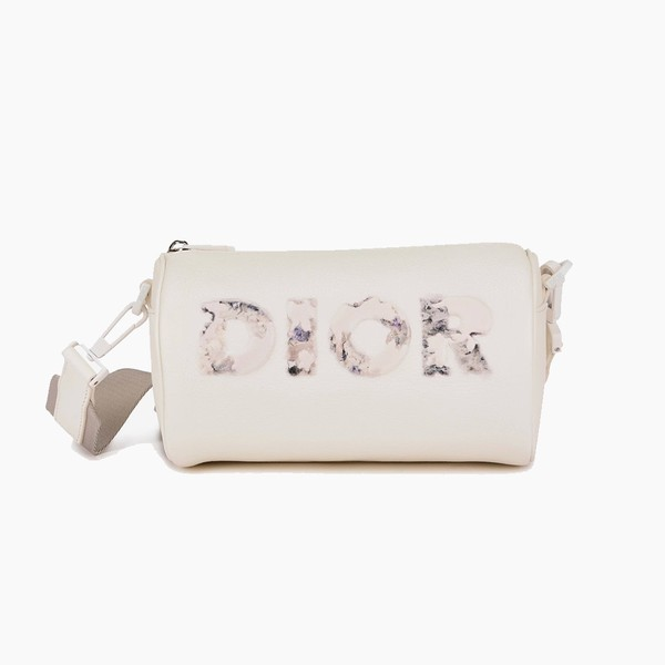 Daniel Arsham x Dior Grained Leather Roller Bag