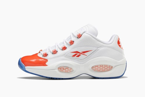 "Reebok Question Low ""Vivid Orange"""