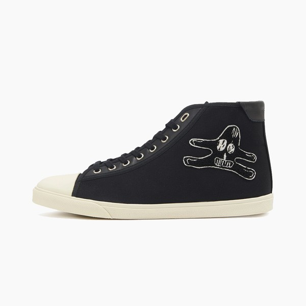 André Butzer x Celine Blank Mid Lace-Up Sneaker