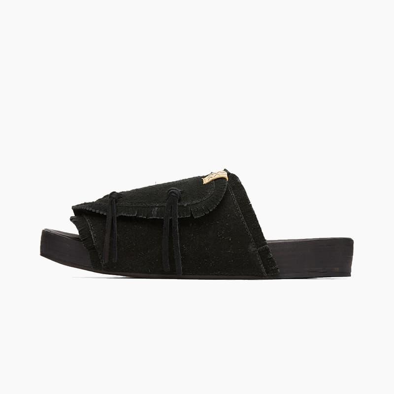 visvim Christo Shaman Folk Sandals in Black Release Where to buy Price 2020