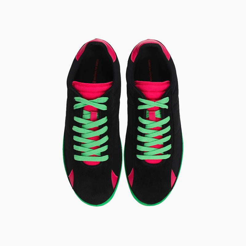 """COMME des GARÇONS SHIRT """"Black/Pink"""" Sneakers Release Where to buy Price 2020"""