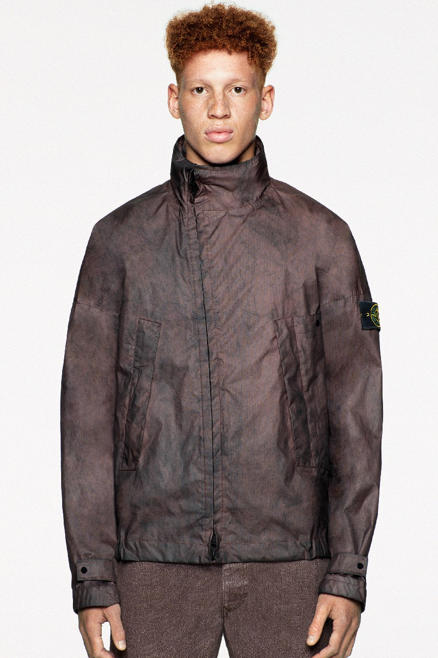 stone island outerwear membrana dust color ss20 spring summer 2020