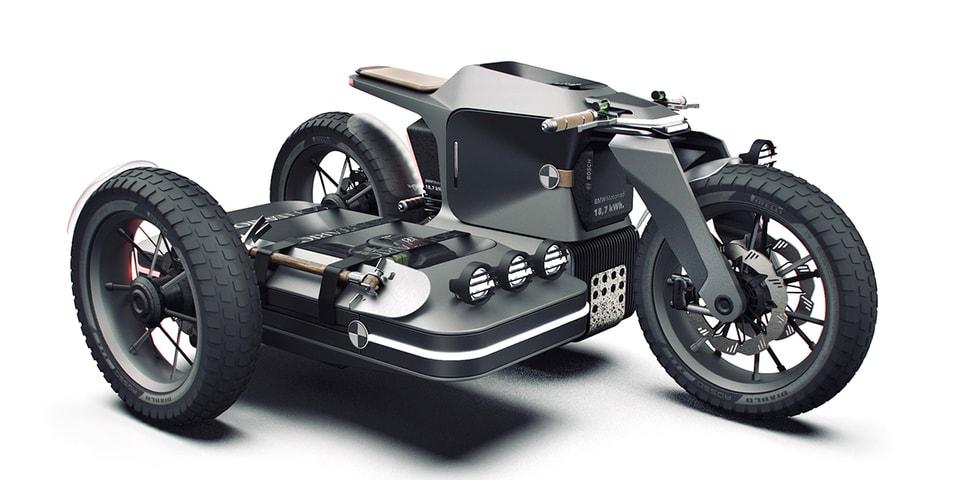 BMW's Motorrad Reimagined as ESMC Off-Road Concept