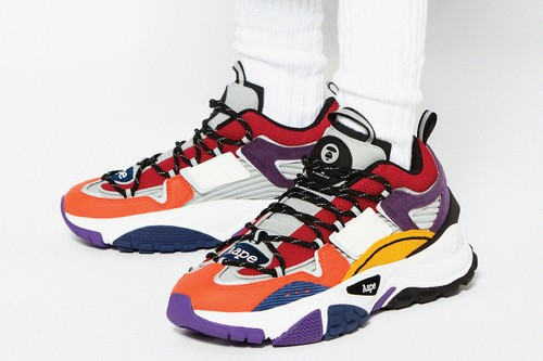 AAPE by A BATHING APE Introduces Multicolored Dimension Sneaker