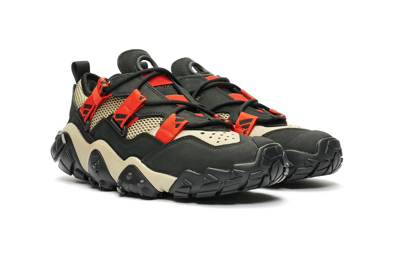 adidas Consortium FYW XTA Black Red Beige Fv2536 Footwear Three Stripes Hiking Shoes Sneaker Release Information Drop Date First Look
