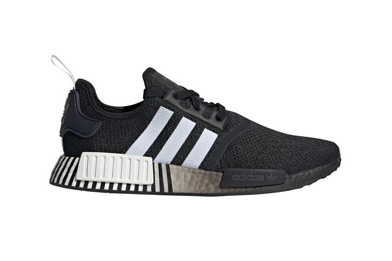 adidas NMD R1 Core Black Footwear White menswear streetwear spring summer 2020 collection sneakers trainers shoes