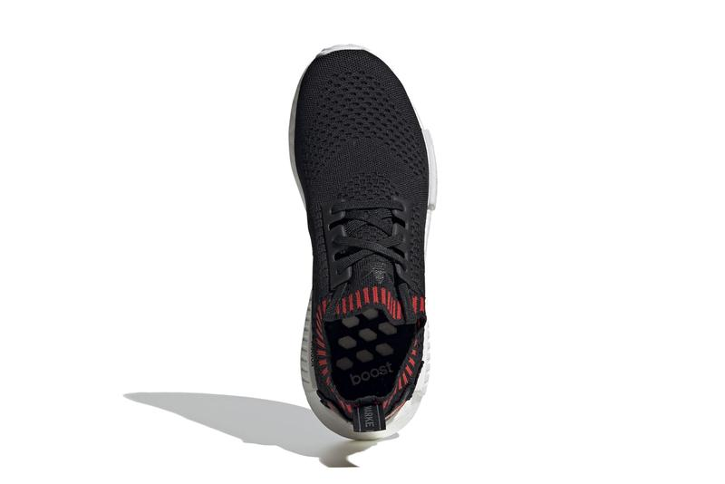 adidas originals nmd r1 pk primeknit dragon boat festival EH2238 core black red release date info photos price