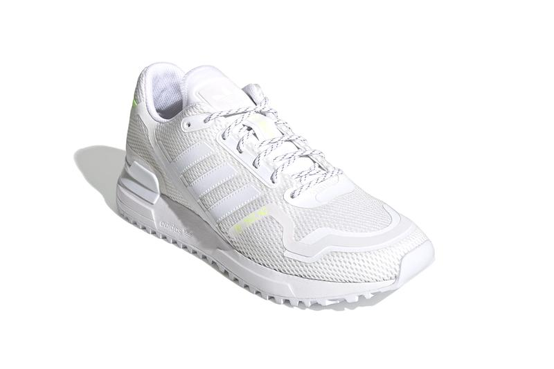 adidas Originals ZX 750 HD Cloud White Signal Green Release Footwear Trefoil sneakers kicks style hypebeast trainers german sports shoes