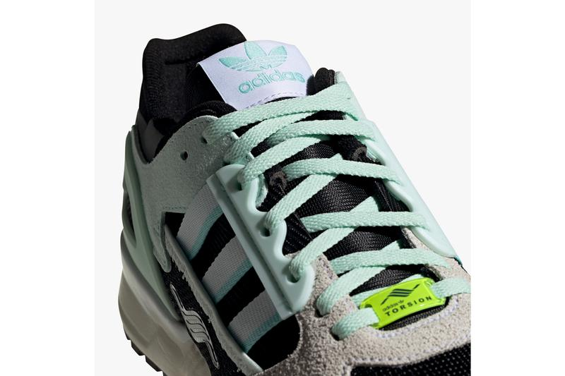 adidas originals zx10000 C dash green clear aqua core black tan FV3324 release date info photos price store list