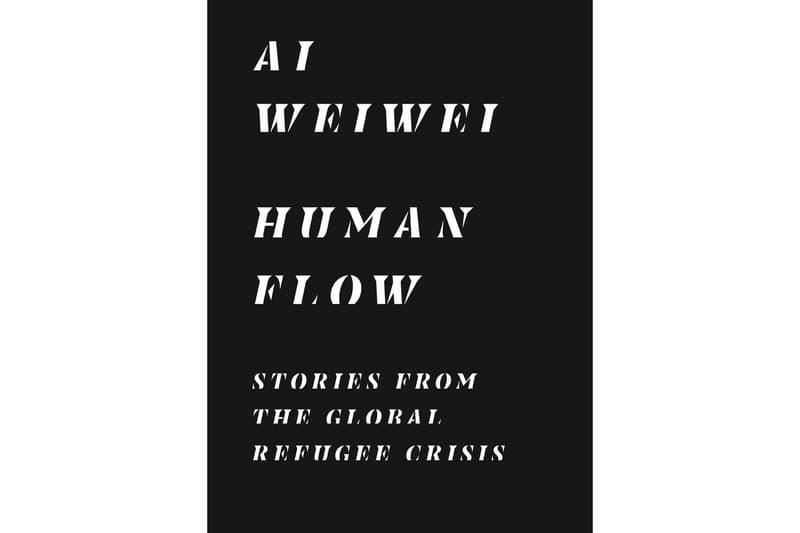 ai weiwei human flow book release
