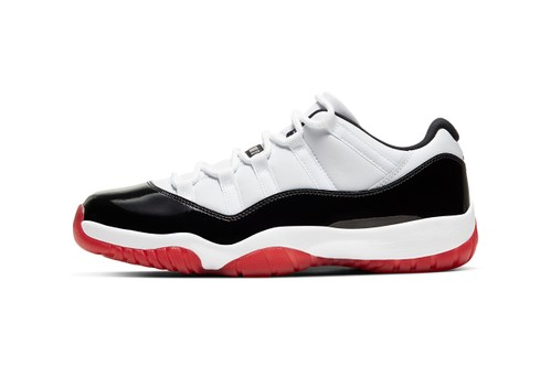 "Air Jordan 11 Low ""White Bred"" Combines Two Memorable Styles"