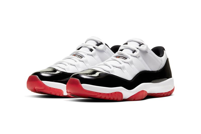 air jordan brand 11 low white concord bred gym red university black true red AV2187 160 release date info photos price store list