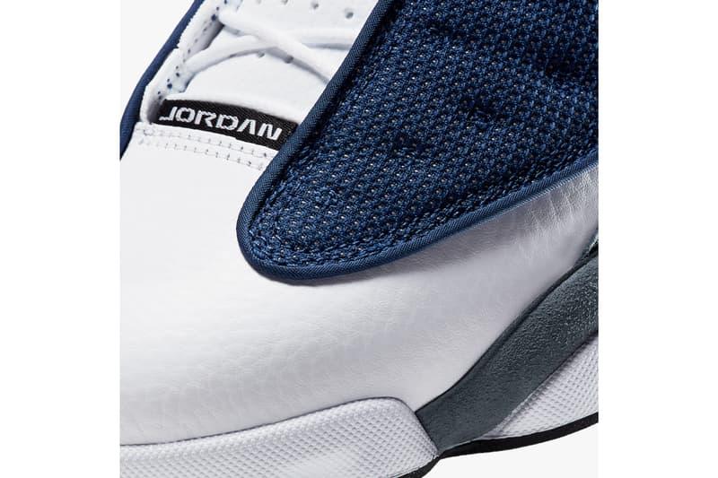 air jordan brand 13 flint navy flint grey white university blue 414571 404 official release date info photos price store list