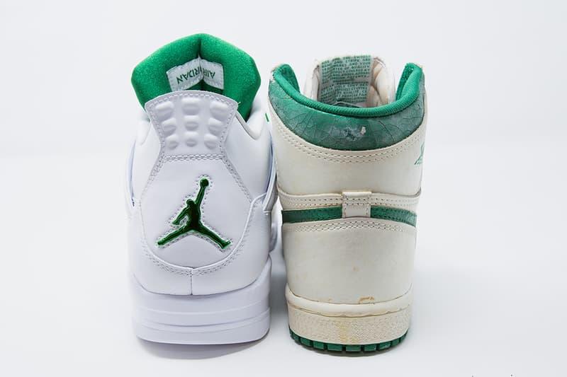 air jordan brand 4 white metallic silver pine green CT8527 113 release date info photos price store list