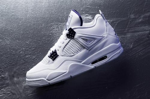 """Detailed Look at the Air Jordan 4 """"Metallic Purple"""""""