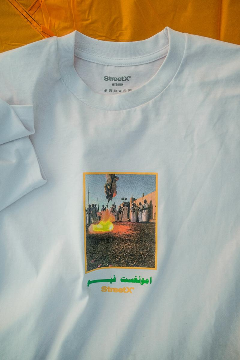 amongst few StreetX Collaboration Lookbook Release Info Buy Price t shirt hoodie shorts