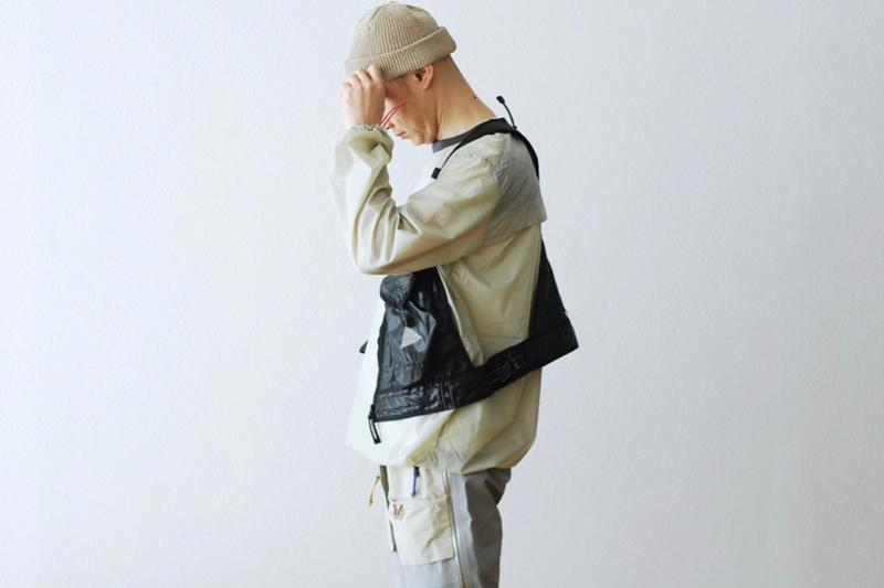and wander Utility Pocket Vest menswear streetwear spring summer 2020 collection technical outdoor Japanese brand