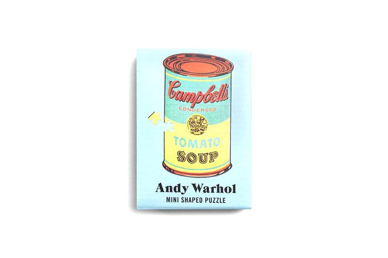 Andy Warhol's Puzzle Three-Pack Marilyn Campbell's Soup Can Banana Modern Artist New York Uncrate puzzles home design
