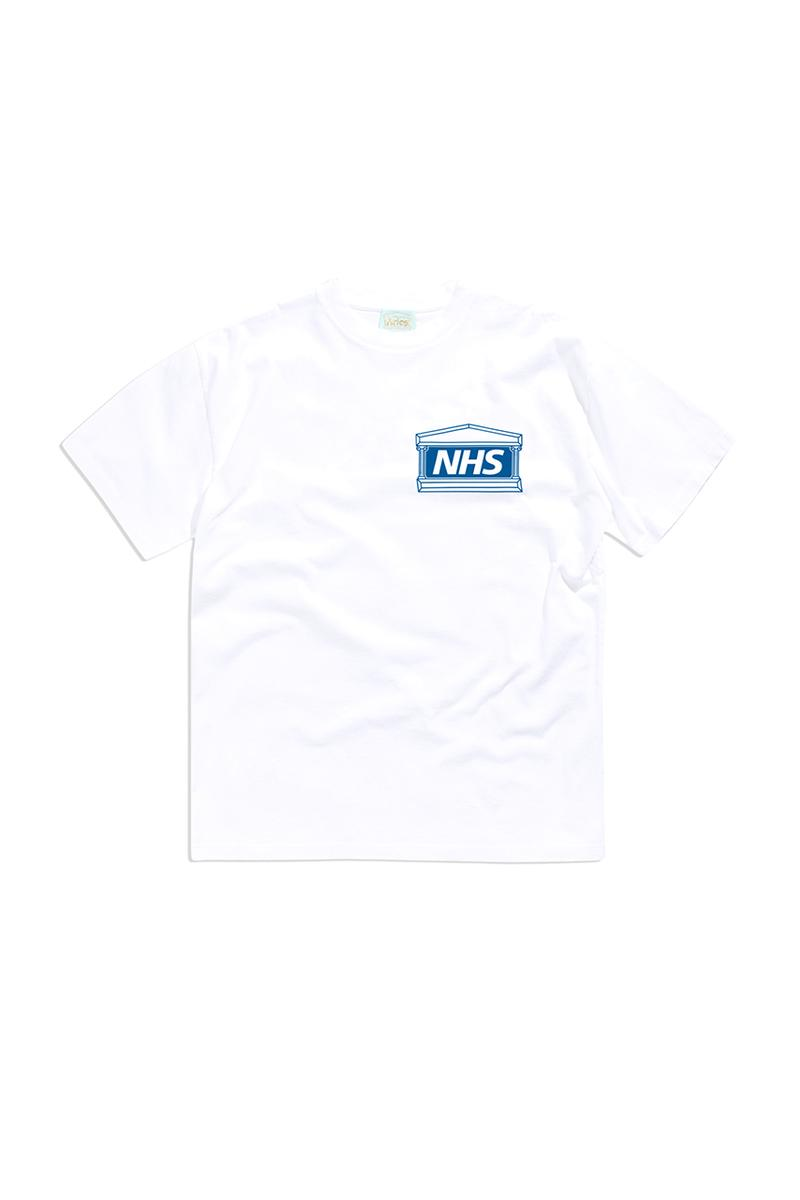 NHS aries sofia prantera coronavirus release details covid-19 buy cop purchase charity t-shirt tee white blue