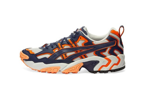 ASICS Brings Back OG GEL-Nandi Runner in Trail-Ready Blue and Orange Design