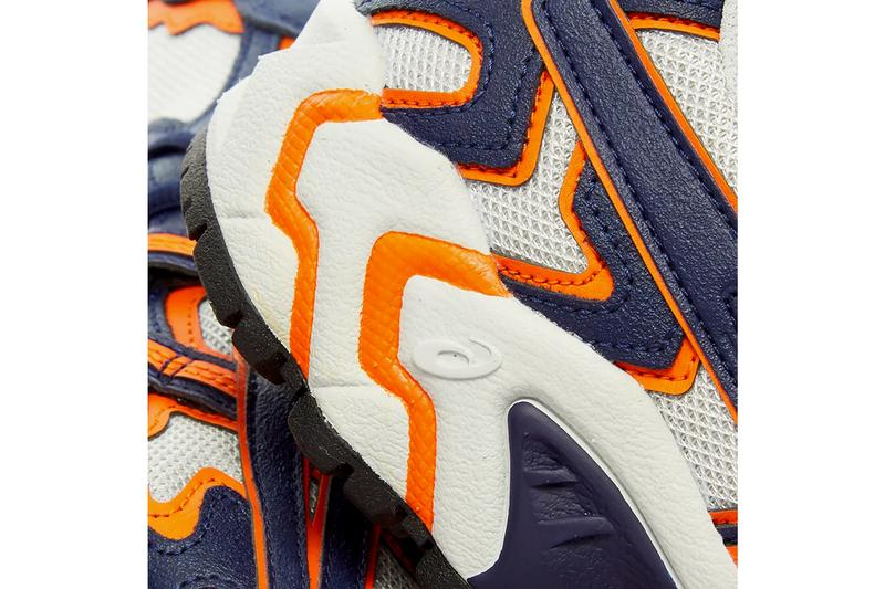asics gel nandi og blue orange trail runner release date info photos price store list 20th anniversary