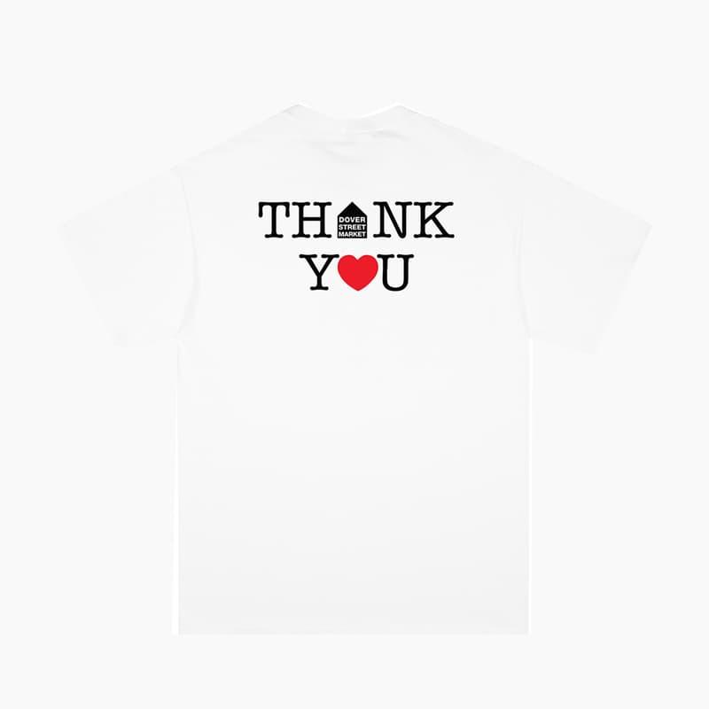 DSM x NOAH Thank You Core Logo T-Shirt Release Where to buy Price 2020 Collaboration