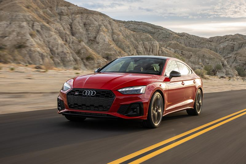 Audi A4 and A5 Get More Power, Tech and Driver Aids for 2021 Model Upgrade German Automotive Company Updates Saloon Family Cars Luxury Automobile United States of America Car Hybrid Electric System EV