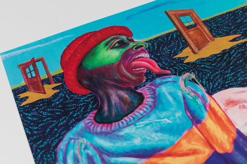 simphiwe ndzube avant arte screenprint edition in the silence of the drum artworks collections