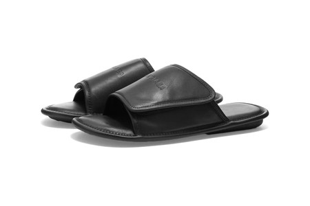 Balenciaga Drops Luxe Leather-Covered Home Sandals