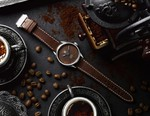 BWD and Badgerworks' TAG Heuer Carrera Features a Tropical Dial Made From Ground Coffee