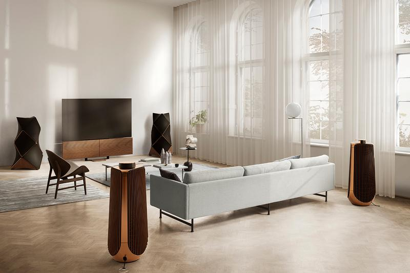 Bang & Olufsen Beovision Harmony 88-inch TV $49,000 USD Luxury Cinematic Experience Lounge Home Cinema Television OLED 8K ScreensLG Electronics