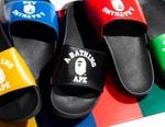 BAPE Announces Olympics-Themed College Slide Sandals