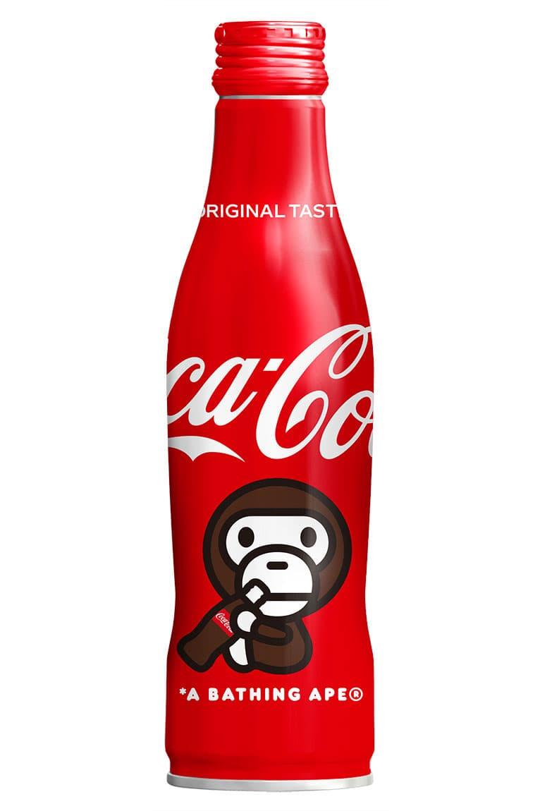 BAPE x Coca-Cola Summer 2020 Bottle Collaboration ss20 ape head baby milo japan