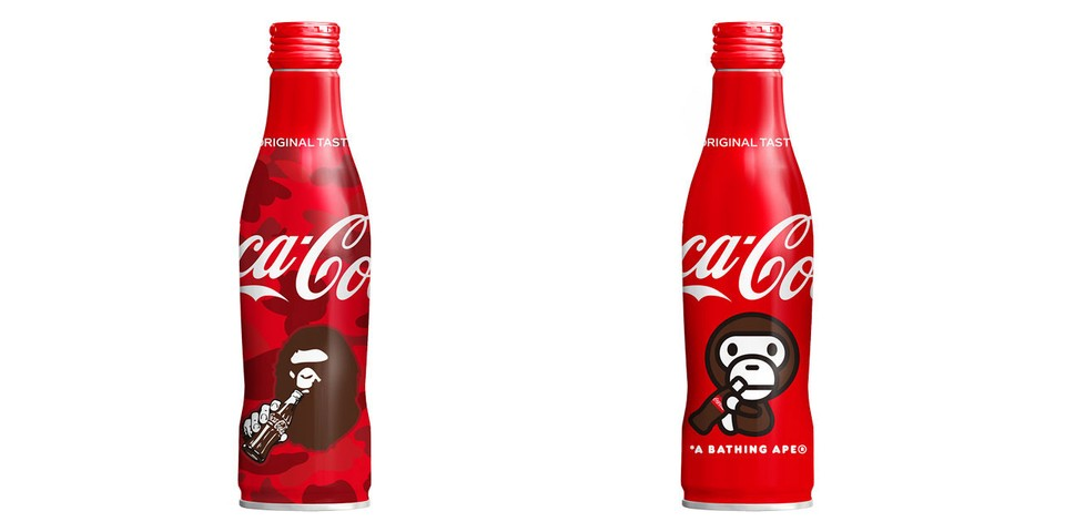BAPE and Coca-Cola Reunite for Premium Bottles
