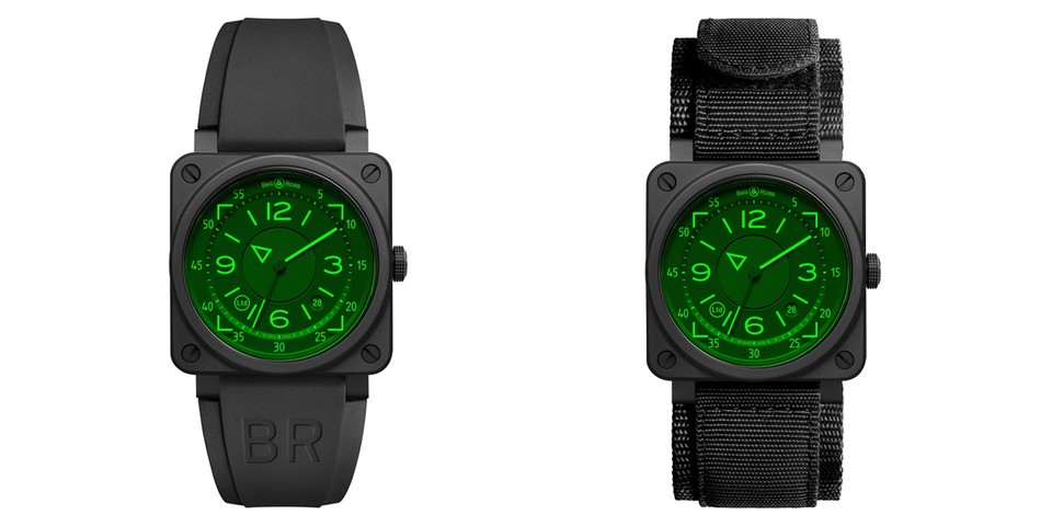 Bell & Ross Captures a Head-up Display in New BR 03-92