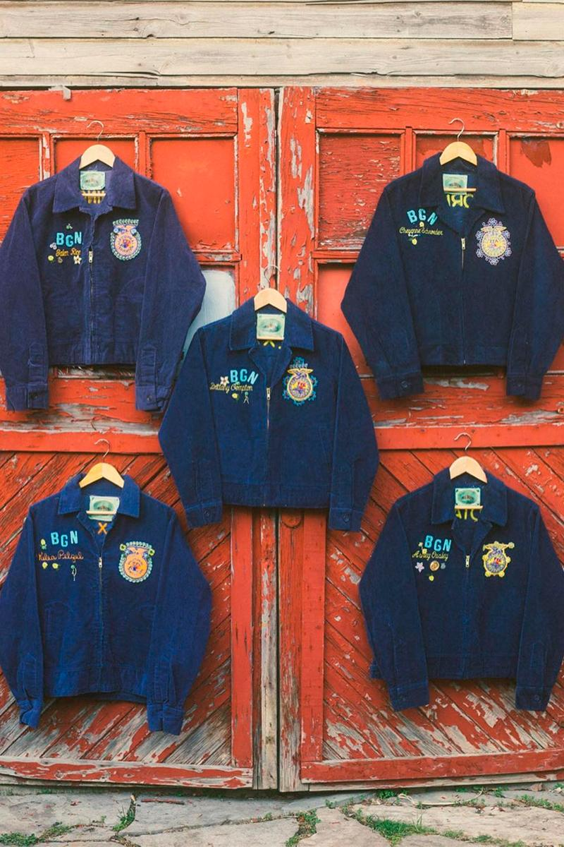 bentgablenits 1928 Corduroy FFA Farmers Jacket Release Blue Info Future Farmers of America Buy Price