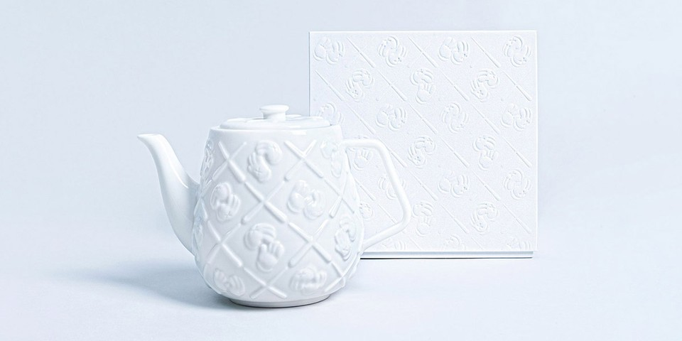 Art for Your Home: KAWS Monogram Teapot, Keith Haring BE@RBRICK & More