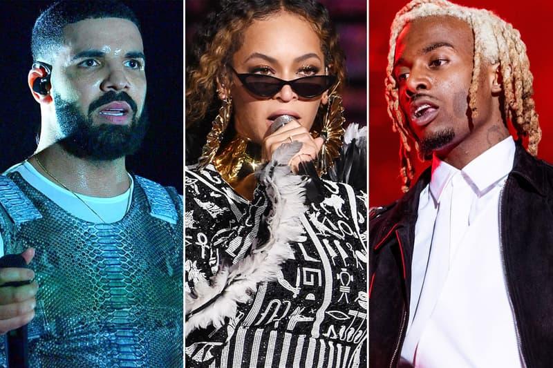 Best New Tracks May 1 2020 Drake Beyonce Megan Thee Stallion Yung Lean Playboi Carti SiR Hannibal Buress Mozzy Kali Uchis Kehlani HYPEBEAST HipHop Rap Hip Hop Alternative Alt Indie Jazz Pop Listen