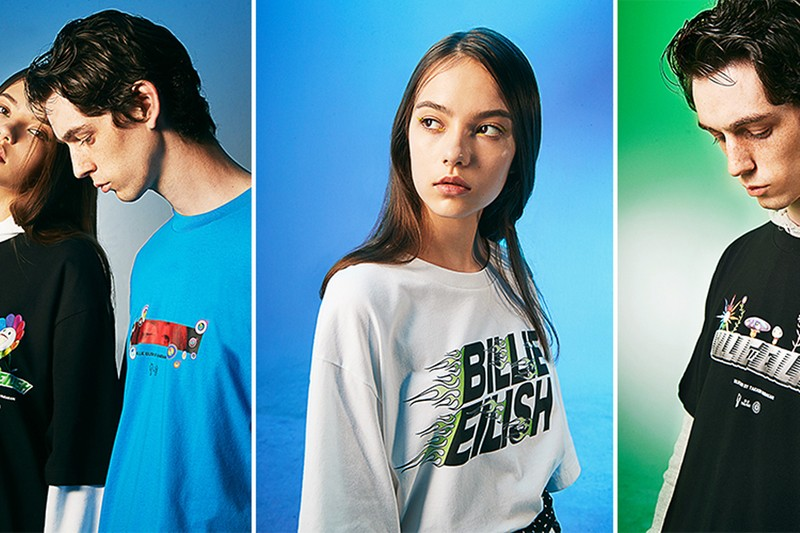 Take a Closer Look at the UNIQLO UT Billie Eilish x Takashi Murakami Collaboration