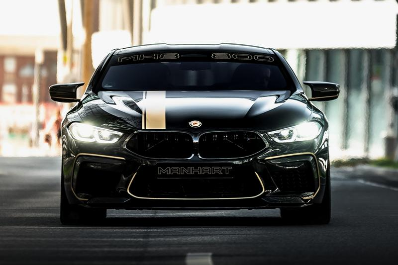 BMW M8 Competition MANHART MH8 800 Supercar First Look Luxury Coupe Most Powerful Ever 0-62 MPH 2.6 Seconds Fast Cars Tuner Tuned Custom German Automotive Engineering V8 812 BHP