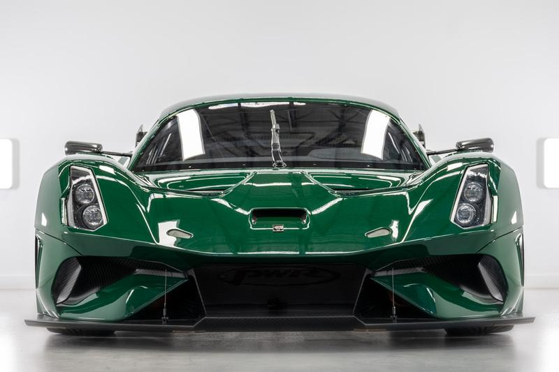 brabham automotive bt62 competition racing spec supercar 700 horsepower v8 engine