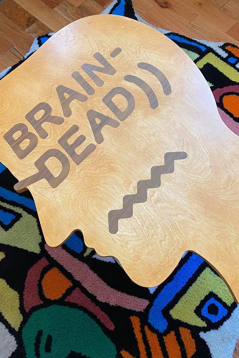 brain dead modernica logo head case study frame system coffee table hand made interior design furniture storage display