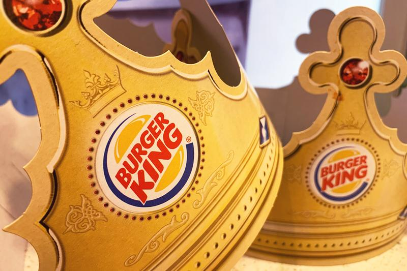 Burger King Giant Crowns for Social Distancing