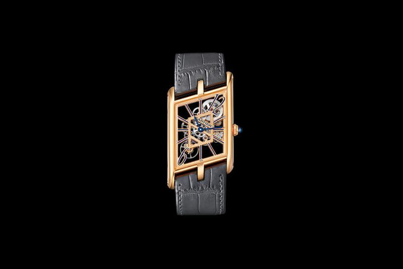 Cartier Privé Tank Asymétrique Watch Fine Timepiece Release Information Retro Design First Look Limited Edition 100 Pieces Six Versions Horology 9623 MC skeleton movement