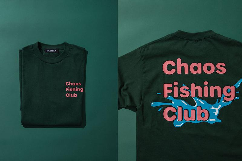 Chaos Fishing Club Crocs BEAMS T Collaboration Release Info classic clog t shirt ou kun