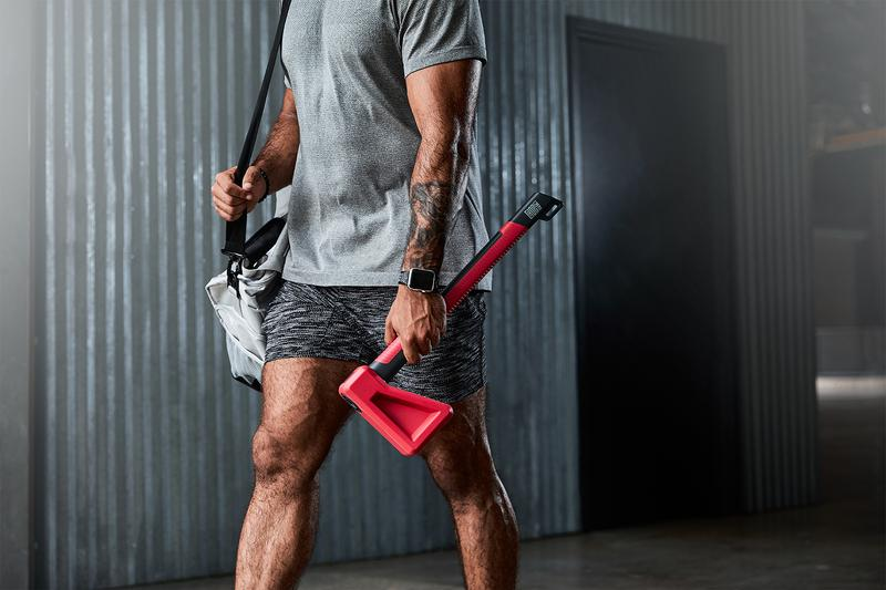 ChopFit The Chopper Release Is a Home Workout System in the Shape of an Axe Fitness Exercise Mace Macebell core workout functional training