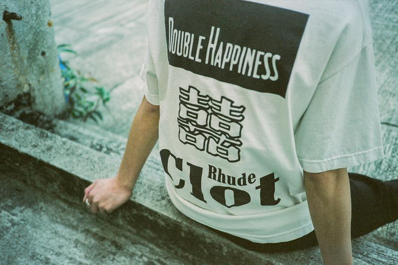 "CLOT x RHUDE ""Double Happiness"" Collection Edison Chen Kevin Poon Rhuigi Villasenor Cigarettes"