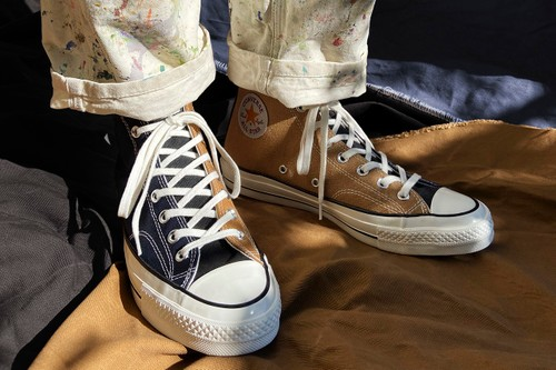 Carhartt WIP and Converse Craft Renew Chuck 70 From Upcycled Workwear