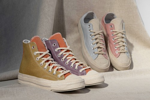Converse Brings Tri-Color Paneling to the Chuck 70 Renew Hi & Ox